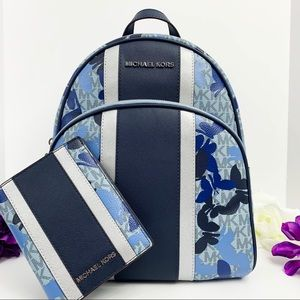 NWT Michael Kors Abbey Backpack & Wallet